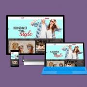 website portfolio c21 mall design